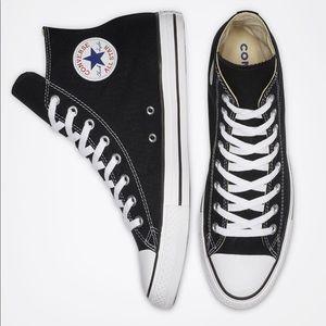 Black Converse All Star high tops